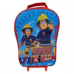 Plecak Strażak Sam walizka na kółkach Fireman Sam