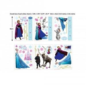 Zestaw naklejek-naklejki Disney Frozen Kraina Lodu