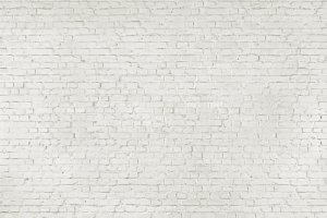 Biała Cegła - Ściana z cegły - fototapeta