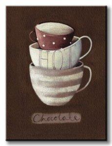 Hot Chocolate - Obraz na płótnie