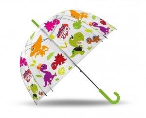 Parasolka przezroczysta DINOZAURY parasol transparentny