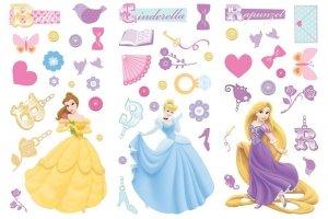Naklejki Disney Princess Księżniczki new
