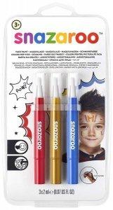 Markery do malowania twarzy Farby w pędzelku Adventure
