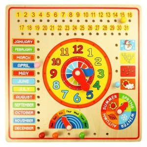 Zegar z kalendarzem