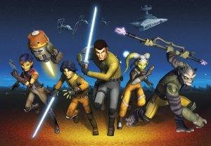 Fototapeta Star Wars Gwiezdne Wojny Rebels Run