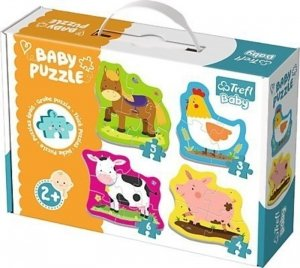 Puzzle BABY CLASSIC Zwierzęta na wsi TREFL 36070