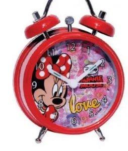 Budzik stojący zegar Myszka Mini Minnie Mosue New