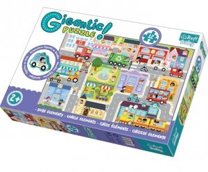 Puzzle edukacyjne Gigantic Miasto 90754 Trefl