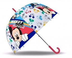 Parasolka Myszka Miki przezroczysta