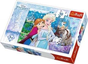 PUZZLE Uwolnij magię Frozen 18225 30el Trefl Kraina Lodu