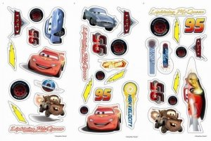 Naklejki Auta Cars Disney Pixar small