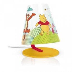Lampka Kubuś Puchatek nocna stojąca biurkowa Phillips LED Disney