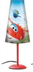 Lampka nocna Super Wings na szafkę Samoloty