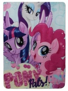 Pled Koc Kocyk MLP Kucyki My Little Pony 100x140cm pink