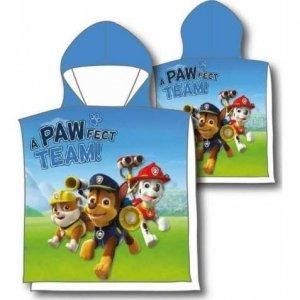 Ponczo Ręcznik kąpielowy PAW Psi Patrol