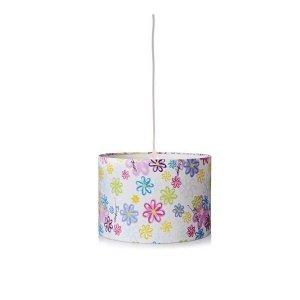 Lampa zwis Kosta w kwiatki