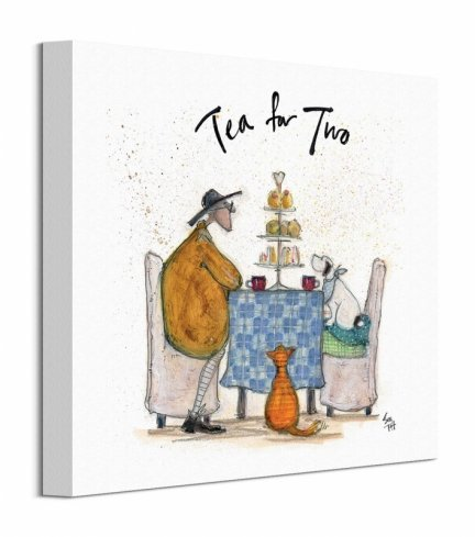 Tea for Two II - obraz na płótnie