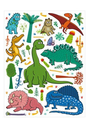 Naklejki Dinozaury