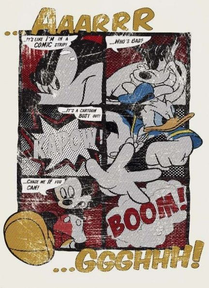 Fototapeta komiksowa Myszka Miki