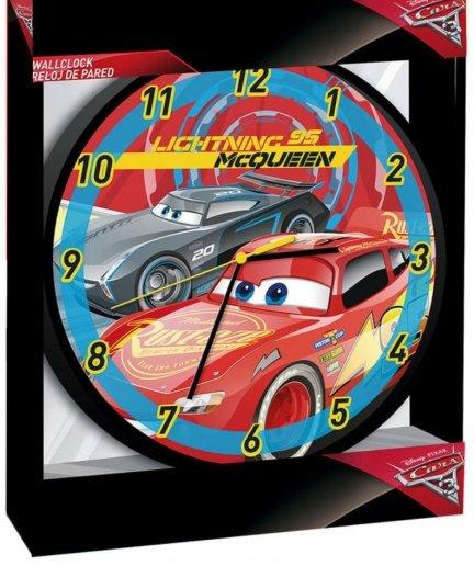 Zegar Auta Disney Pixar Cars MQ