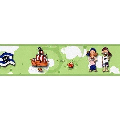 Pasek dekoracyjny z Piratami Bord Piraci