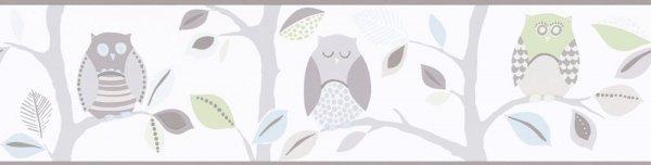 Pasek dekoracyjny 8955-30 sowy Border
