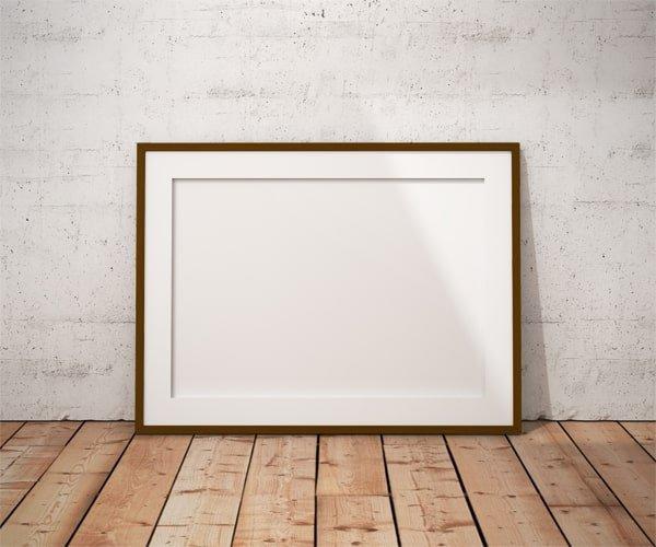 Passe-partout białe 59,4x84,1 cm