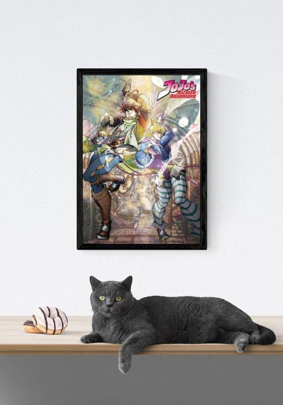 Jojos Bizarre Adventure - plakat