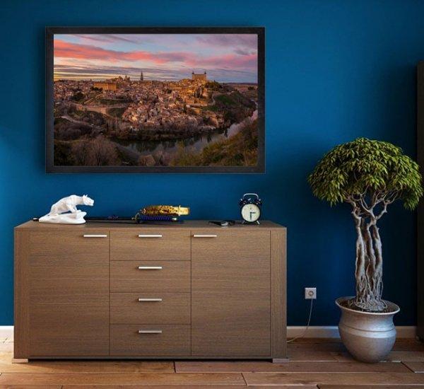 Panorama miasta - plakat premium