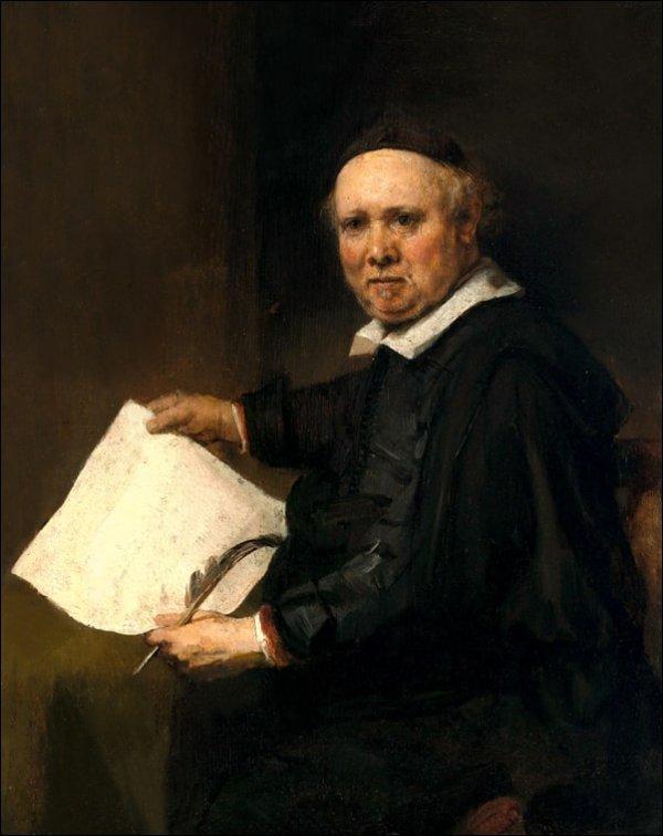 Lieven Willemsz van Coppenol (born about 1599, died 1671 or later), Rembrandt - plakat