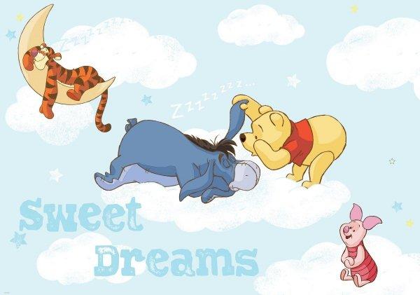 Fototapeta na flizelinie Kubuś Puchatek Sweet Dreams XL