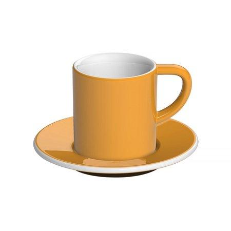 Loveramics Bond - Filiżanka i spodek Espresso 80 ml - Yellow