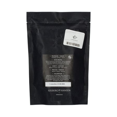 Solberg & Hansen - Ethiopia Chelbessa Black Coffee vol. 20