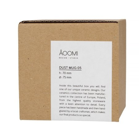 AOOMI - Dust Mug 05 - Kubek 170 ml