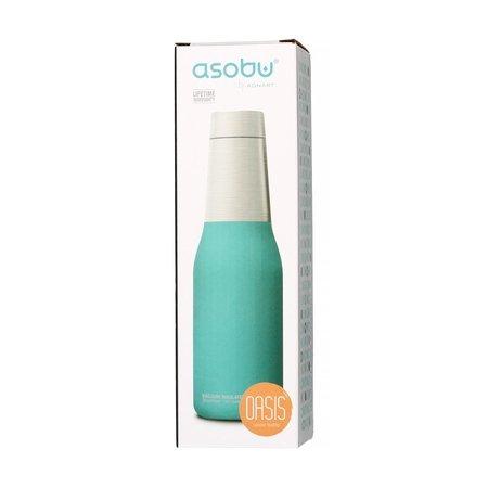 Asobu - Oasis Water Bottle Turkusowy - Butelka termiczna 600 ml