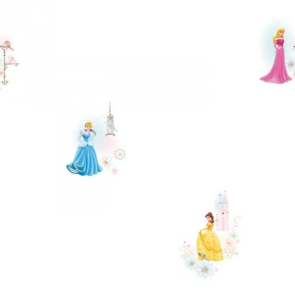 Tapeta Princess II biała
