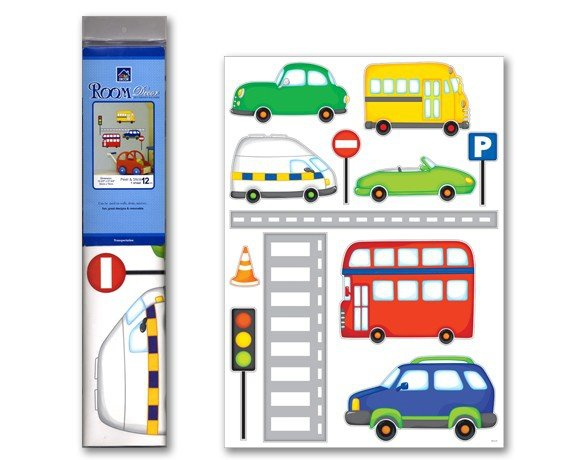 Naklejki auta i autobus