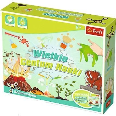 Science4You Wielkie Centrum Nauki XL 60709 Trefl
