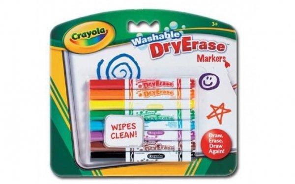 Markery do białych tablic 8szt Crayola