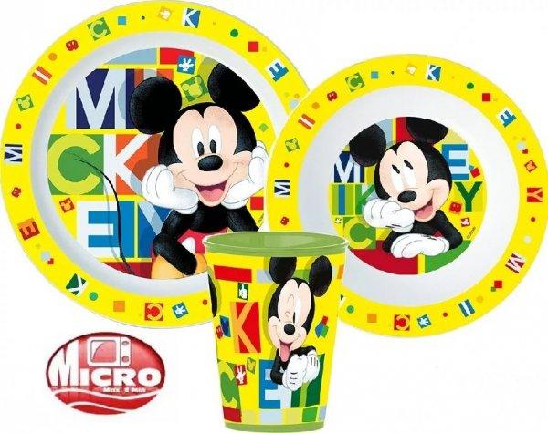 Zestaw obiadowy Myszka Miki Mickey Mouse
