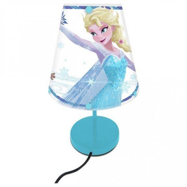 Lampka nocna Disney Frozen biurkowa Kraina Lodu sieciowa Lexibook