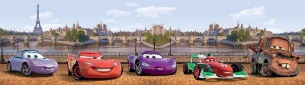 Bord Disney Cars in London 14cm Auta Samochody pasek dekoracyjny