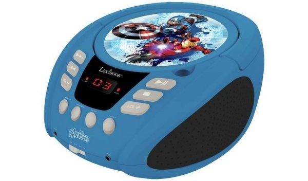 Boombox Avengers odtwarzacz CD AUX MIC JACK Radio