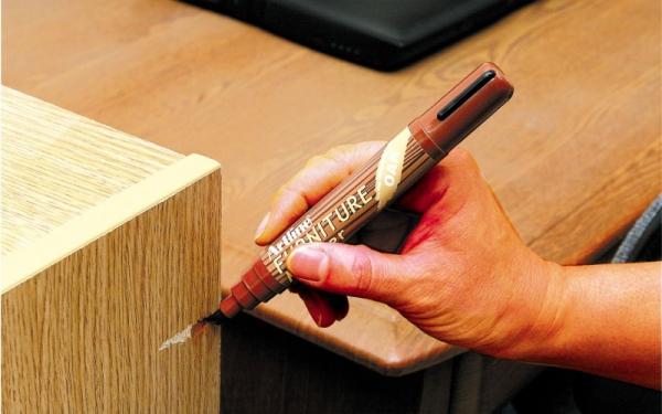 Marker do drewna - mebli, podłóg