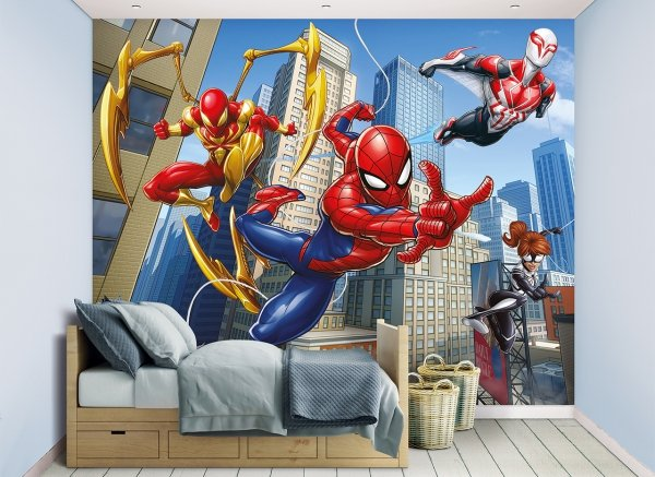 Tapeta 3D Spiderman Mural