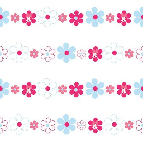 Tapeta Kwiatuszki z Minnie