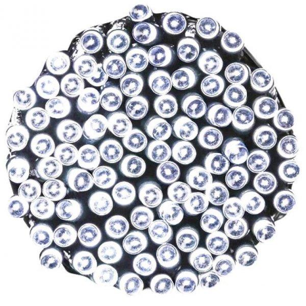 LAMPKI 80 LED RING ZIMNE BIAŁE OŚWIETLENIE ŚWIĄTECZNE