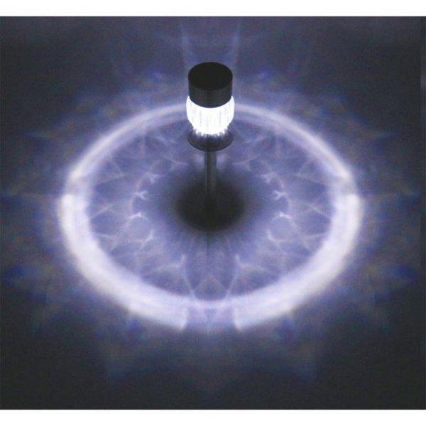 LAMPA SOLARNA SŁUPEK DIAMENT OŚWIETLENIE OGRODOWE