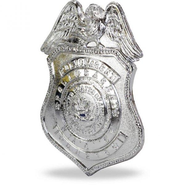 POLICJANT ZESTAW DO ZABAWY KAJDANKI GWIZDEK PISTOLET