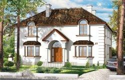 Projekt domu Ambasador II pow.netto 328,61 m2